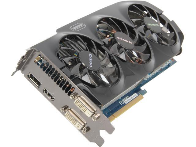 GIGABYTE GeForce GTX 760 DirectX 11.1 GV-N760OC-2GD 2GB 256-Bit GDDR5 PCI Express 3.0 HDCP Ready Video Card
