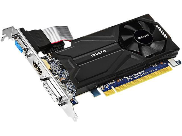 GIGABYTE GeForce GT 640 DirectX 11 GV-N640D5-1GL Video Card