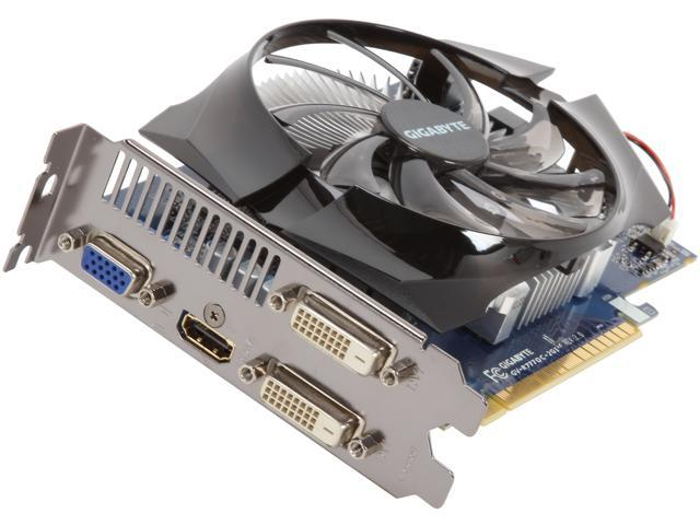 GIGABYTE Radeon HD 7770 DirectX 11.1 GV-R777OC-2GI 2GB 128-Bit GDDR5 PCI Express 3.0 HDCP Ready Video Card