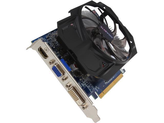GIGABYTE Radeon R7 250 DirectX 11.1 GV-R725OC-1GI 1GB 128-Bit GDDR5 PCI Express 3.0 HDCP Ready Video Card