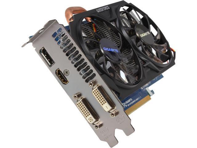 GIGABYTE Radeon R7 260X DirectX 11.2 GV-R726XWF2-2GD REV2 Video Card
