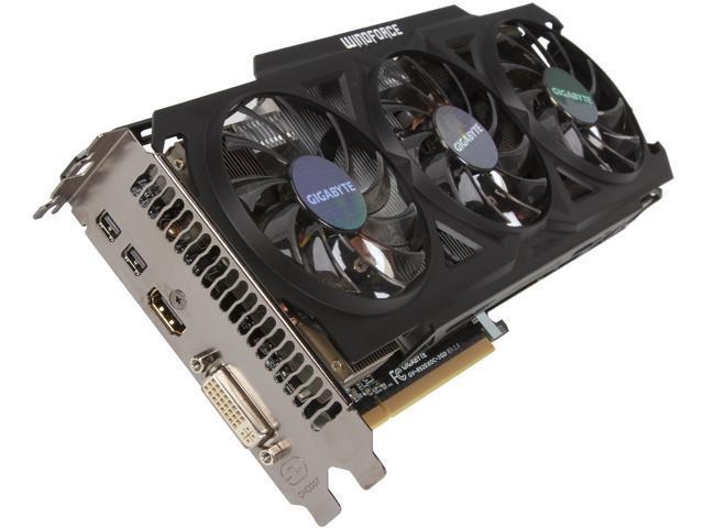 GIGABYTE Radeon R9 280X GV-R928XOC-3GD REV2 Video Card