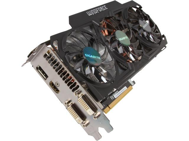 GIGABYTE GeForce GTX 780 Ti GV-N78TGHZ-3GD Video Card