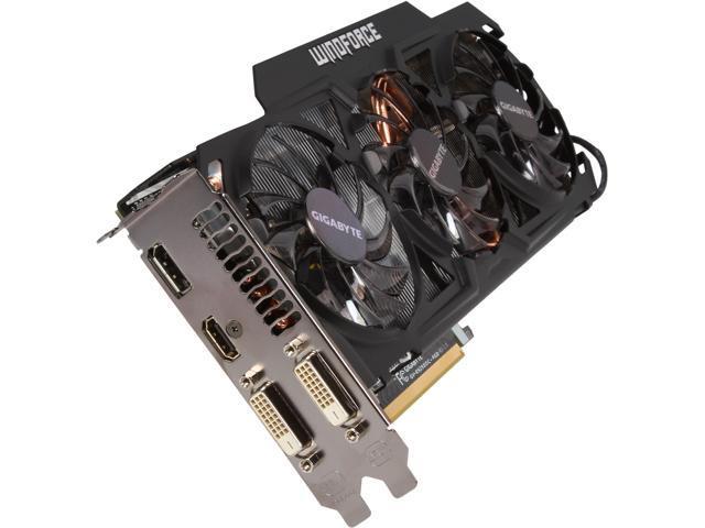 GIGABYTE Radeon R9 290X DirectX 11.2 GV-R929XOC-4GD Video Card