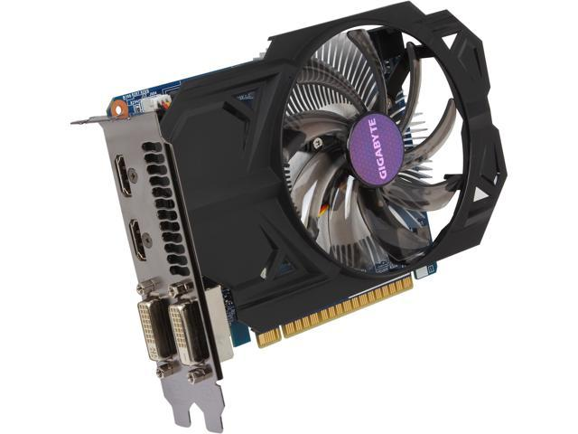 GIGABYTE GeForce GTX 750 GV-N750OC-1GI Video Card