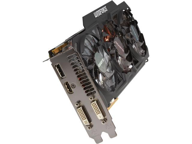 GIGABYTE GV-N770WF3-2GD GeForce GTX 770 2GB 256-Bit GDDR5 PCI Express 3.0 HDCP Ready WindForce 3X Video Card