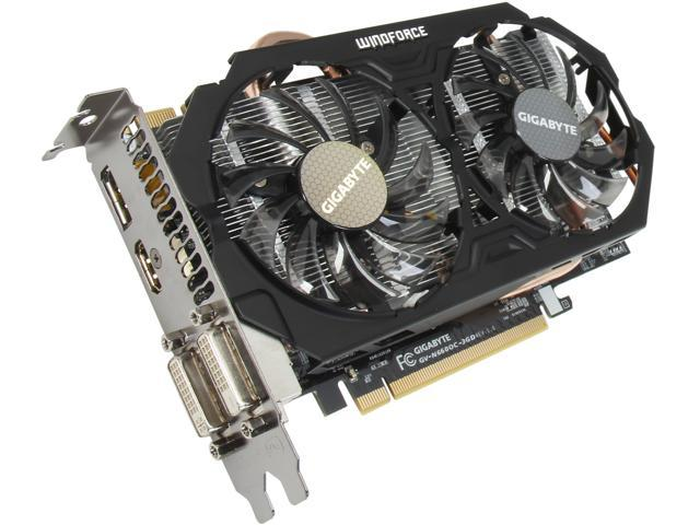 GIGABYTE G-SYNC Support GeForce GTX 660 GV-N660OC-3GD Video Card