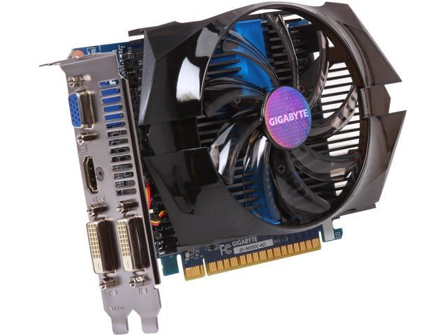 GIGABYTE GeForce GTX 650 DirectX 11.2 GV-N650OC-4GI Video Card