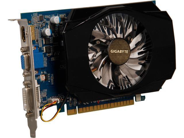GIGABYTE GeForce GT 440 (Fermi) DirectX 11 GV-N440D3-1GI Video Card