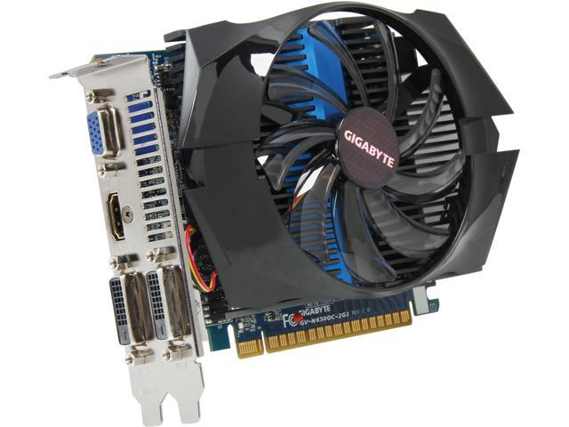 GIGABYTE GV-N650OC-2GI GeForce GTX 650 2GB 128-Bit GDDR5 PCI Express 3.0 x16 HDCP Ready Video Card Manufactured Recertified