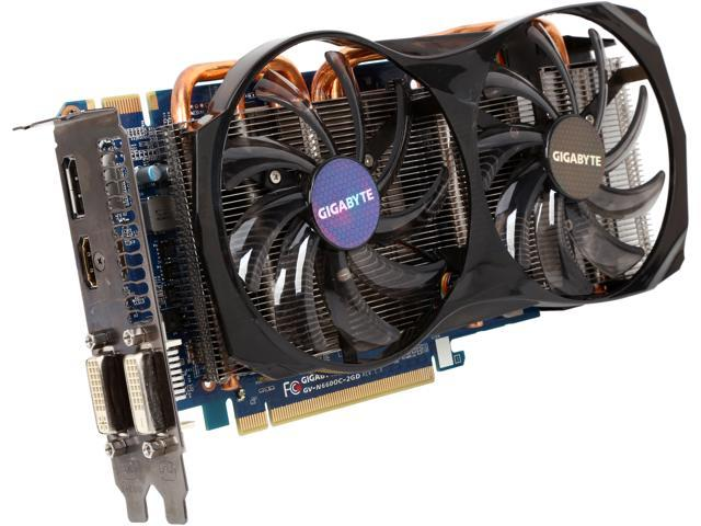 GIGABYTE GV-N660OC-2GD GeForce GTX 660 2GB 192-Bit GDDR5 PCI Express 3.0 x16 HDCP Ready SLI Support Video Card Manufactured Recertified