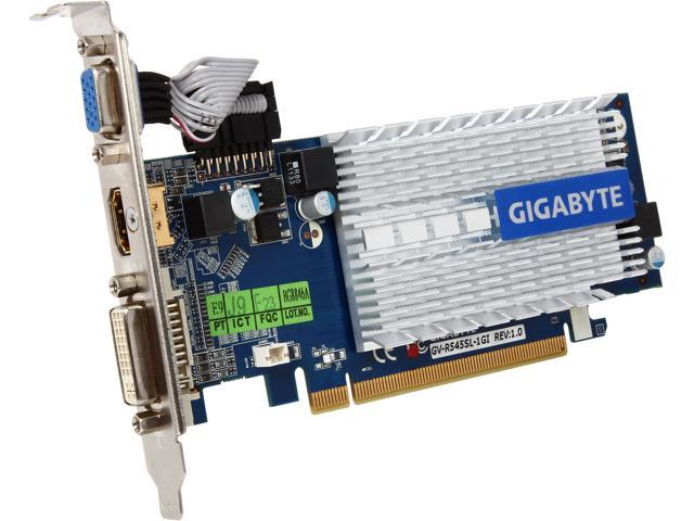 GIGABYTE Radeon HD 5450 DirectX 11 GV-R545SL-1GI Video Card
