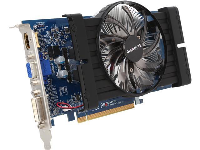 GIGABYTE Radeon HD 6670 DirectX 11 GV-R667OC-1GI 1GB 128-Bit DDR3 PCI Express 2.1 x16 HDCP Ready Video Card