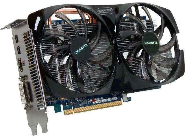 GIGABYTE Radeon HD 7850 DirectX 11 GV-R785OC-1GD Video Card