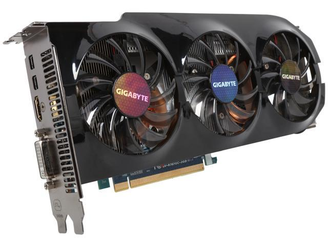 GIGABYTE Radeon HD 7870 GHz Edition DirectX 11 GV-R787OC-2GD Video Card