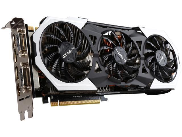 GIGABYTE GeForce GTX 980Ti 6GB G1 Gaming OC Edition Neweggcom