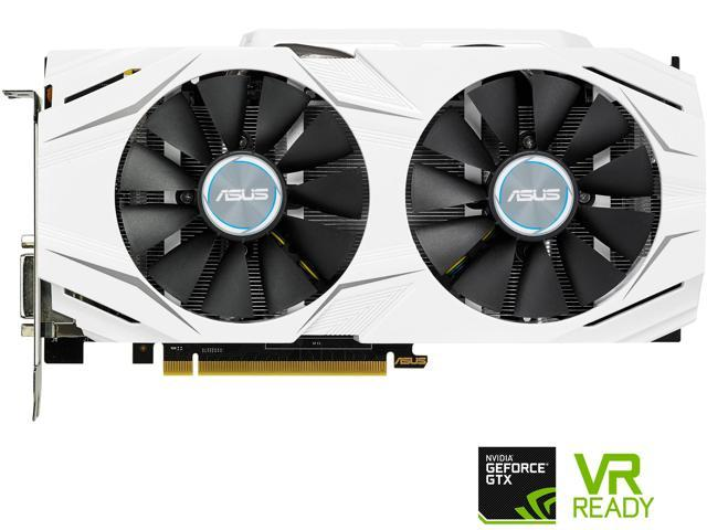 ASUS GeForce GTX 1070 DUAL-GTX1070-8G 8GB 256-Bit GDDR5 PCI Express 3.0 HDCP Ready SLI Support Video Card