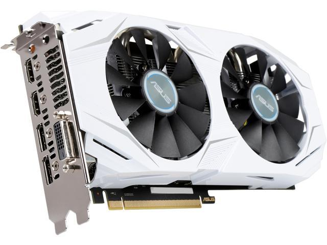 ASUS Dual series GeForce GTX 1060 DUAL-GTX1060-O3G 3GB 192-Bit GDDR5 PCI Express 3.0 HDCP Ready Video Card