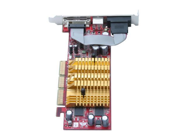 MSI FX5200-TD128LF GeForce FX 5200 128MB 64-bit DDR AGP 4X/8X Video Card