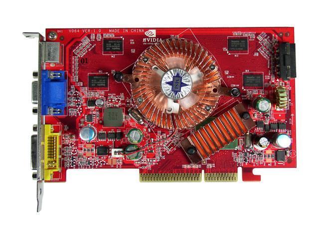 MSI NX7600GS-TD256 GeForce 7600GS 256MB 128-bit GDDR2 AGP 4X/8X Video Card