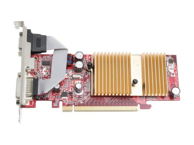 MSI NX7100GS-TD256E GeForce 7100GS 512MB (256MB on board) 64-bit GDDR2 PCI Express x16 Video Card