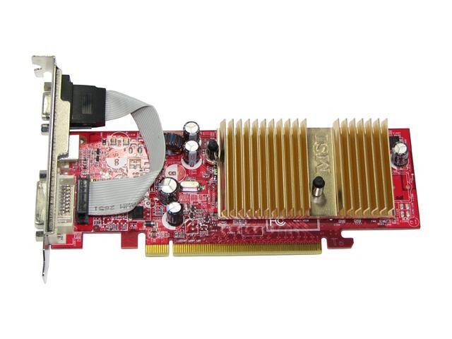 MSI NX7100GS-TD128E GeForce 7100GS 512MB(128MB on Board) 64-bit GDDR2 PCI Express x16 SLI Support Low Profile Video Card