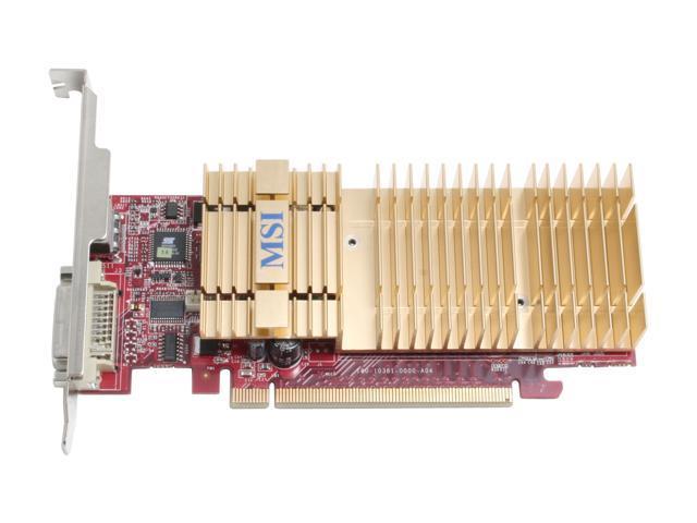 MSI NX7300GS-MD256EH GeForce 7300GS 256MB 64-bit GDDR2 PCI Express x16 Low Profile Video Card