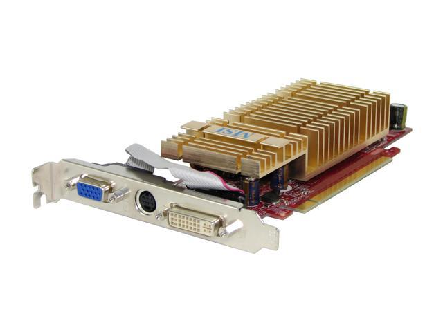 MSI NX7300LE-TD256EH GeForce 7300LE 256MB 64-bit GDDR2 PCI Express x16 Video Card