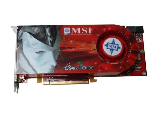 MSI RX2900XT-VT2D512E Radeon HD 2900XT 512MB 512-bit GDDR3 PCI Express x16 HDCP Ready CrossFireX Support VIVO HDCP Video Card