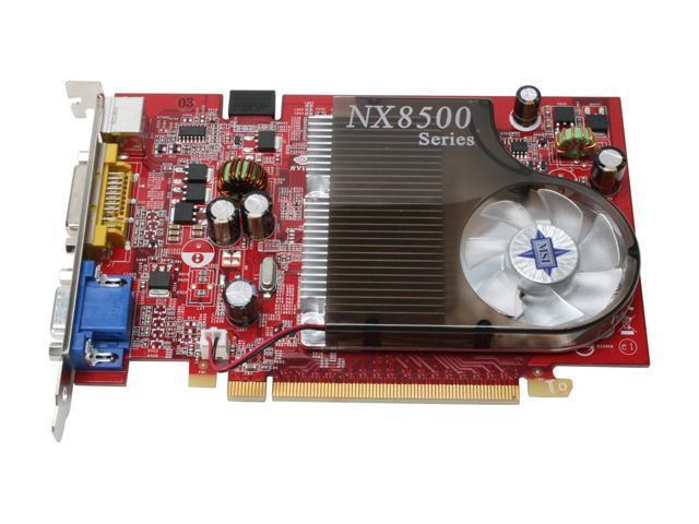MSI NX8500GT-TD256E OC GeForce 8500 GT 256MB 128-bit GDDR3 PCI Express x16 SLI Support Video Card