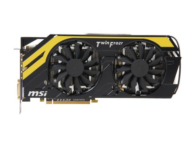 MSI R7970 Lightning Radeon HD 7970 3GB 384-bit GDDR5 PCI Express 3.0 x16 HDCP Ready CrossFireX Support Video Card