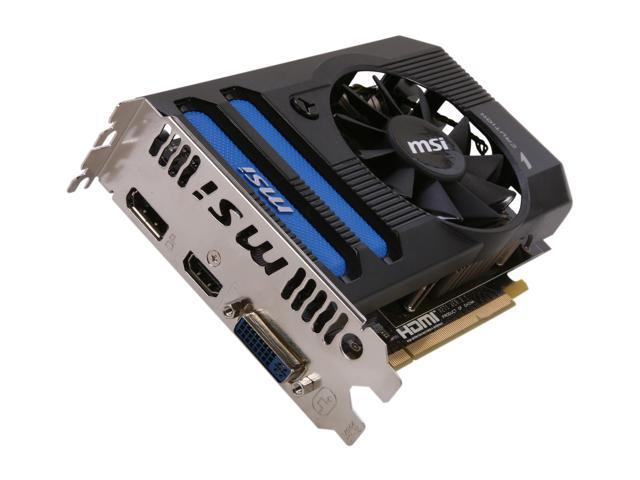 MSI Radeon HD 7770 DirectX 11 R7770-PMD1GD5 1GB 128-Bit GDDR5 PCI Express 3.0 x16 HDCP Ready Video Card