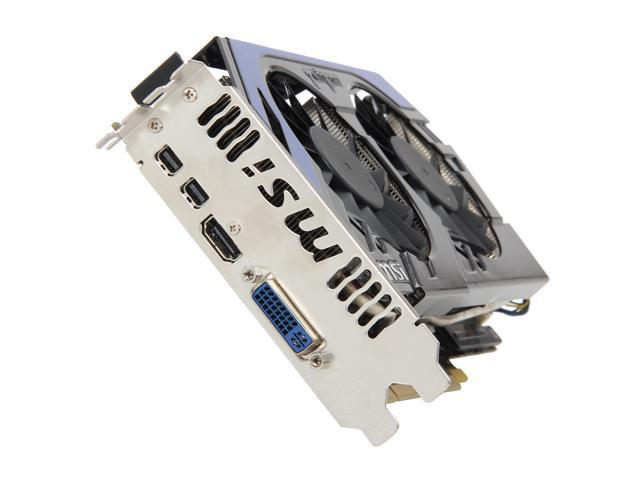 MSI Radeon HD 7850 DirectX 11 R7850 PE 2GD5/OC 2GB 256-Bit GDDR5 PCI Express 3.0 x16 HDCP Ready CrossFireX Support Video Card