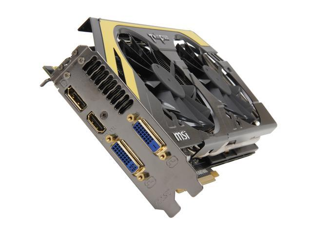 MSI GeForce GTX 680 DirectX 11 N680GTX Lightning 2GB 256-Bit GDDR5 PCI Express 3.0 x16 HDCP Ready SLI Support Video Card