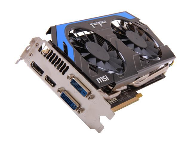 MSI GeForce GTX 660 Ti DirectX 11 N660TI PE 2GD5 Video Card