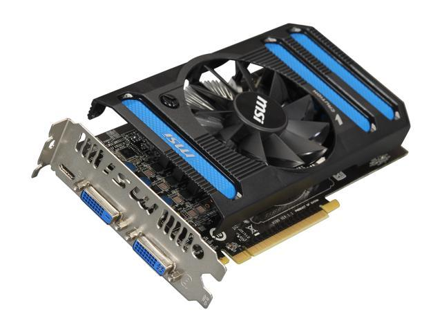 MSI GeForce GTX 650 DirectX 11 N650-1GD5/OC 1GB 128-Bit GDDR5 PCI Express 3.0 x16 HDCP Ready Video Card