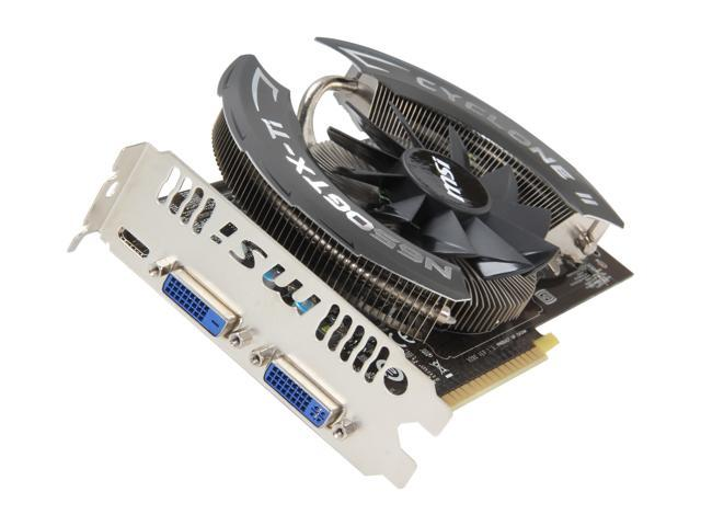 MSI Power Edition GeForce GTX 650 Ti DirectX 11 N650TI PE 1GD5/OC 1GB 128-Bit GDDR5 PCI Express 3.0 x16 HDCP Ready Video Card