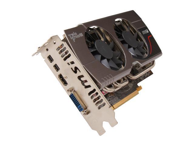 MSI Radeon HD 7850 DirectX 11 R7850 Twin Frozr 2GD5 Video Card