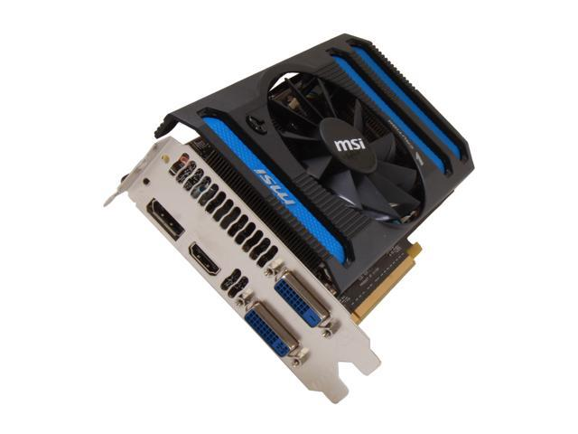 MSI GeForce GTX 660 DirectX 11 N660-2GD5/OC 2GB 192-Bit GDDR5 PCI Express 3.0 x16 HDCP Ready SLI Support Video Card