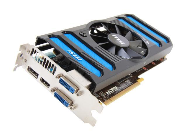 MSI GeForce GTX 660 Ti DirectX 11 N660TI-2GD5/OC Video Card