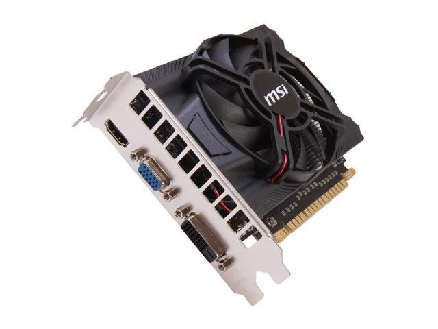 MSI GeForce GTX 650 DirectX 11 N650-2GD5/OC 2GB 128-Bit GDDR5 PCI Express 3.0 HDCP Ready Video Card
