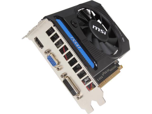 MSI GeForce GTX 650 Ti DirectX 11 N650TI-1GD5/V1 1GB 128-Bit GDDR5 PCI Express 3.0 HDCP Ready Video Card
