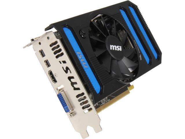 MSI Radeon HD 7850 DirectX 11 R7850-2GD5/OC 2GB 256-Bit GDDR5 PCI Express 3.0 x16 HDCP Ready CrossFireX Support Video Card