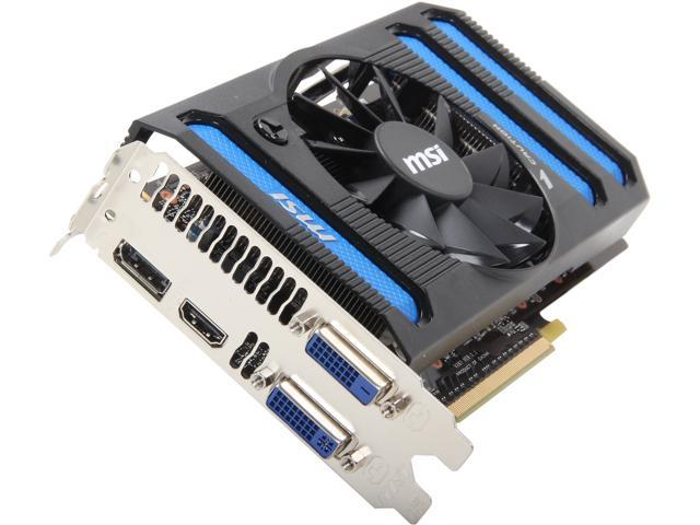 MSI GeForce GTX 650 Ti BOOST DirectX 11 N650ti-2GD5/OC BE Video Card