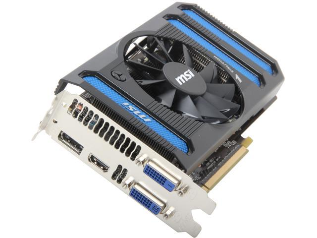 MSI GeForce GTX 650 Ti BOOST DirectX 11 N650ti-1GD5/OC BE Video Card