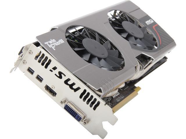 MSI R7970 TF 3GD5/OC BE Radeon HD 7970 3GB Twin Frozr OC Boost Edition 384-bit GDDR5 PCI Express 3.0 x16 HDCP Ready CrossFireX Support Video Card