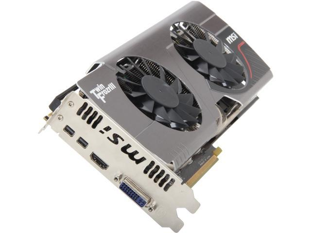 MSI Radeon HD 7950 DirectX 11 R7950 Twin Frozr 3GD5 3GB 384-Bit GDDR5 PCI Express 3.0 x16 HDCP Ready CrossFireX Support Video Card
