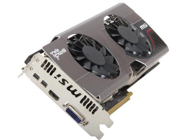 MSI Radeon HD 7950 DirectX 11 R7950 TF 3GD5 BE 3GB 384-Bit GDDR5 PCI Express 3.0 x16 HDCP Ready CrossFireX Support Video Card