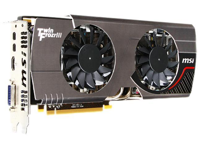 MSI R7970 TF 3GD5/OC BE Radeon HD 7970 Graphic Card - 1000 MHz Core - 3 GB GDDR5 SDRAM - PCI Express 3.0 x16