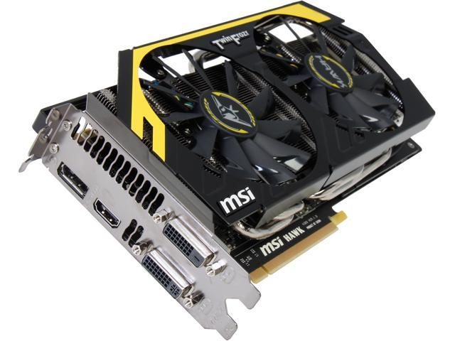MSI GeForce GTX 760 DirectX 11.1(feature level 11_0) N760 HAWK Video Card